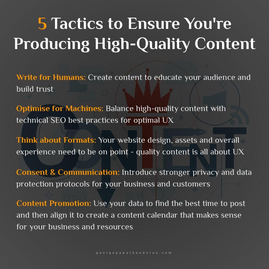 Quality Content Tactics