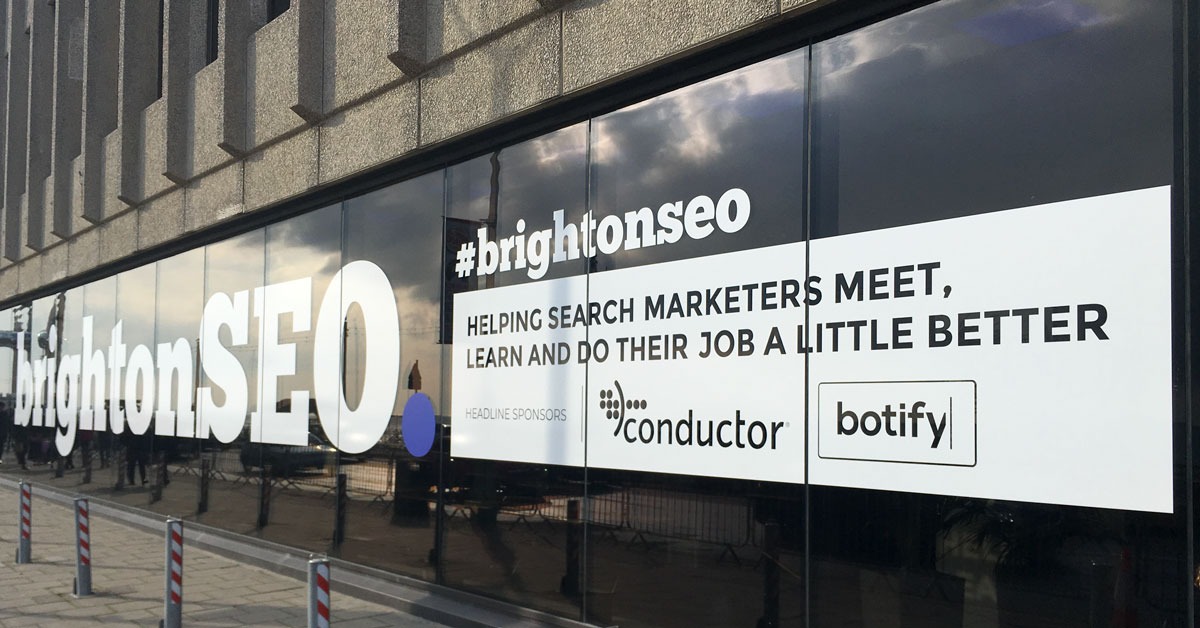 BrightonSEO Slides